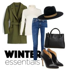 """""""Winter  Essentials"""" by connieimageconsultant on Polyvore featuring J.Crew, Acne Studios, Chloe Gosselin, Tory Burch and Janessa Leone"""
