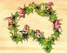 Aussie Christmas wreath Aussie Christmas, Australian Christmas, Santa Christmas, Christmas Images, Christmas Wishes, All Things Christmas, Christmas Wreaths, Christmas Cards, Hygge Christmas
