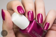 BibbediBabbediBeauty: CATRICE Luxury Lacquers 2015 | Miss-Terious Red