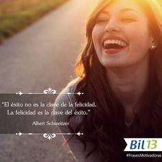 ¡Feliz inicio de Semana!. Recuerda que una actitud optimista a la vida, al trabajo y a la familia, nos hará más FELICES.  #FelizLunes #FrasesMotivadoras #Bil13