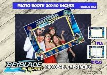 BEYBLADE Photocall, archivo digital Selfies, Boy Birthday Parties, First Names, Party Printables, 1 Piece, Photo Booth, Party Supplies, My Design, Frame