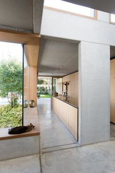 Concrete Architecture, Interior Architecture, Interior And Exterior, Welcome To My House, Timber House, Kitchen Interior, Interior Inspiration, Home Design, Sweet Home