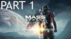 Mass Effect Andromeda Gameplay Walkthrough Part 1 Prologue Hyperion Plan...