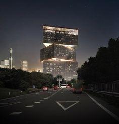 Amsterdam RAI hotel by OMA COD and NH Hotel Group