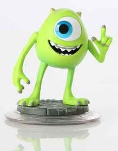 The showman Mike Wazowski will be joining the Disney Infinity Characters in August 2013! Sulley's best friend and costar in Monster Inc will be...