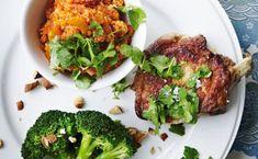 Svinekoteletter med tomat-quinoa | Femina