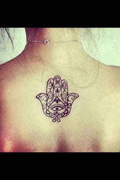 Hamsa size & placement