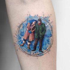 Deborah Genchi > Joel & Clementine (Eternal Sunshine of the Spotless Mind) #tattoo #ink #art #watercolor