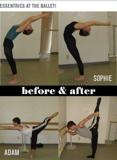 The benefits of the Esmonde Technique for Ballet (Before and after)