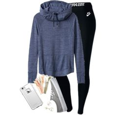 A fashion look from February 2016 featuring Athleta, NIKE and Vans sneakers. Browse and shop related looks.