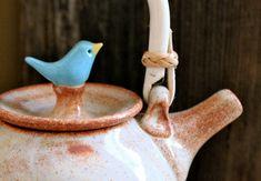 Custom-Made Birdie Teapot  4 to 6 Weeks for by tashamckelvey
