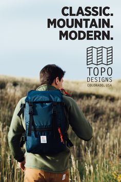 At Topo Designs, we're rooted in mountain culture and outdoor living. Our team grew up hiking, fishing, climbing and skiing—and we often look back to the gear of our youth in awe. Proven classics are our inspiration, yet we take advantage of innovative technologies to ensure a timeless look with modern functionality. We are uncomplicated and utilitarian, but with a sense of design and style through simplicity. Our goal is to not have to choose a single path—we want to live on both sides of…