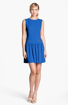 Eliza J Drop Waist Dress available at #Nordstrom