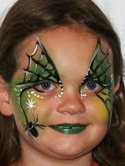 Image result for halloween witch makeup for kids