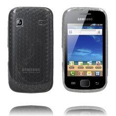 Cubes (Svart) Samsung Galaxy Gio S5660-Skydd