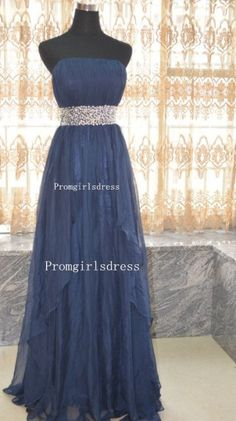 Hey, I found this really awesome Etsy listing at /listing/183343523/prom-dress-long-prom-dress-navy-blue