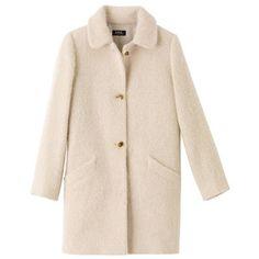 Dolly coat in alpaca