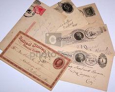 dirección de correo vintage
