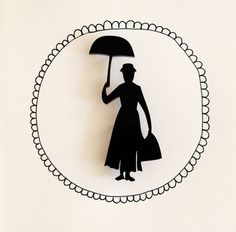 Marry Poppins Brooch www.walkingdesaster.com