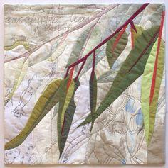 In My Portfolio: Eucalyptus Excerpt 1 | Ruth de Vos: Textile Art