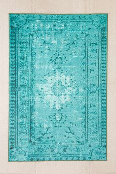Chroma Overdyed Rug - Urban Outfitters