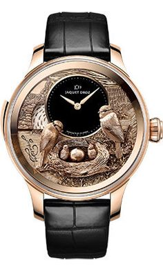 Buy Jaquet Droz Les Ateliers D'Art The Bird Repeater Watches, authentic at discount prices. Complete selection of Luxury Brands. All current Jaquet Droz styles available. Timex Watches, Men's Watches, Cool Watches, Fashion Watches, Cheap Watches, Audemars Piguet, Amazing Watches, Beautiful Watches, Stylish Watches