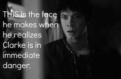 bellamy and clarke kissing - Google Search