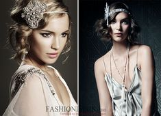The Great Gatsby-Inspired Faux Bob Tutorial  #retrohairstyles #hairstyles #gatsby #gatsbyhairstyles