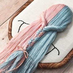 Embroidery Hair Style: Damask Stich Embroidered Girls with Voluminous Hairstyles – Livemaster Hand Embroidery Videos, Creative Embroidery, Embroidery Materials, Hand Embroidery Stitches, Silk Ribbon Embroidery, Embroidery Hoop Art, Hand Embroidery Designs, Embroidery Techniques, Cross Stitch Embroidery