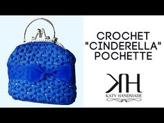 "Tutorial uncinetto pochette ""Cinderella"" | Punto stella | How to make crochet bag || Katy Handmade - YouTube"