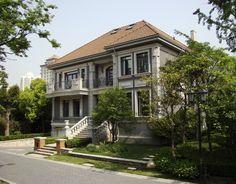 Villa Forbes Park - China Belgium, Villa, China, Mansions, Park, House Styles, Home Decor, Decoration Home, Manor Houses