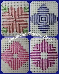 Claudia Trujillo's media content and analytics Blackwork Embroidery, Hand Embroidery Videos, Baby Embroidery, Embroidery Stitches, Embroidery Patterns, Cross Stitch Bird, Cross Stitch Flowers, Cross Stitch Designs, Cross Stitch Patterns