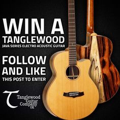 Win a @tanglewooduk TWJSFCE Java Series Electro-Acoustic guitar in our latest competition! Follow us and double-tap this post to enter. T&Cs can be found online #tanglewood #tanglewoodguitar #electroacoustic #acousticguitar #guitarist #competition #doubletap #like #follow #instacomp #pmt #pmthouseofrock by pmthouseofrock