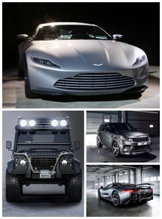 DAMN! The Cars of James Bond 007 Spectre Revealed. Click to see the cars and exclusive clips from the film! #spon #007
