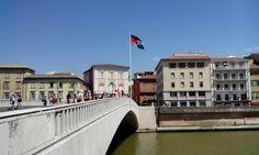 El Confidencial Saharaui: La bandera saharaui ondea en Pisa (Italia).