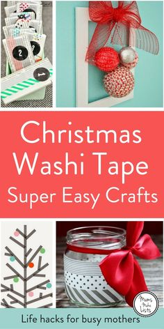 We turn to our curation of Christmas Washi tape ideas time and again for inspiration to create everything from Christmas Washi tape cards to Washi tape wall trees. The craft ideas are all really easy, simple enough even for kids to make them on their own. My favourites are the washi tape Christmas tree decoration made from a cookie cutter and the door wreath. The Washi tape advent calendars are super cool and relatively simple to make.Washi tape Christmas baubles are really striking if you…