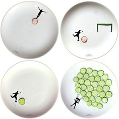 New Play-With-Your-Food Plates: Extreme Sports Edition