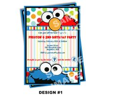 2nd bday invites