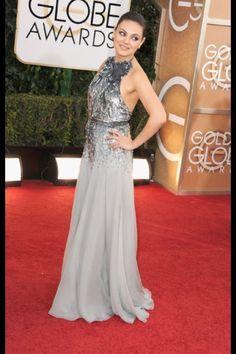 Milan Kunis Golden Globes 2014