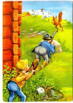 ACHTUNG - An alle Angler! Die geilsten Shirts für echte Angler gibt's nur bei uns von EBENBLATT, gönn dir!! ;-) #angeln #angler #angelshirts #shirts Funny Cartoon Photos, Funny Cartoons, Cartoon Kunst, Cartoon Art, Funny Animal Videos, Funny Animal Pictures, Art And Illustration, Hunting Art, Cowboy Art
