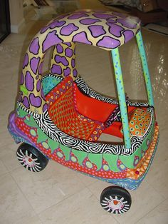 Custom Car by Dominique Rice asmatcollection on ebay and bonanza.com. cheetahdmr@aol.com