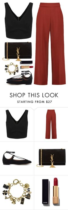 """Find It Of Use"" by green-wild ❤ liked on Polyvore featuring Delpozo, Chloé, Yves Saint Laurent and Chanel"