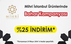 Mihri İstanbul Helal Kozmetik Ürünlerinde Bahar Kampanyasında Sona Yaklaşıyoruz. Büyük İndirim 31 Mayıs'ta Sona Erecek. Bu fırsatı kaçırmayınız  https://www.helalsitesi.com/k-mihri_Istanbul_kozmetik-3246.html