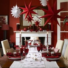 Beauty Christmas table concept