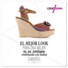 Carisma + lindos zapatos= Una hermosa mujer