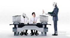 【我的同事「不是人」】 具有人工智慧的服務型機器人已逐漸威脅白領工作者。(圖/今周刊提供)