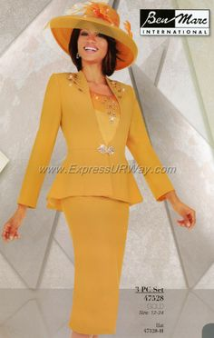 Ben Marc Church Suits for Spring 2014 - www.ExpressURWay.com, Church Suits, Ben Marc, Spring 2014, Womens Suits, Womens Church Suits, Suits for Women