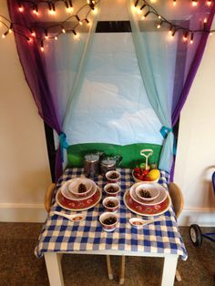 Cafe role play area