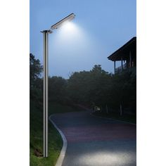 Greenlytes 64 LED Solar Parking Lot Light Review - http://solarlightssite.com/greenlytes-64-led-solar-parking-lot-light-review/