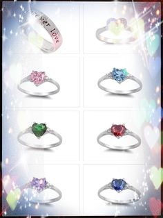.925 Pure Sterling Silver Heart Ring with Heart-Shaped Box http://smb1.myshopify.com/products/925-pure-sterling-silver-heart-ring-with-heart-shaped-box #ring #sterling